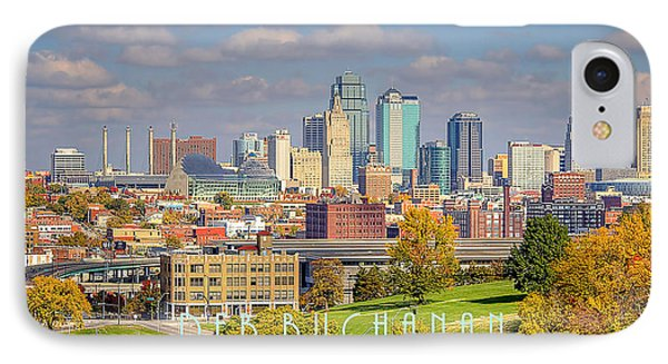 Autumn In Kansas City With Logo IPhone Case
