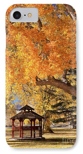 Autumn In La Veta IPhone Case by Pattie Calfy