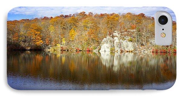 Autumn In Lake Canopus IPhone Case by Rafael Quirindongo