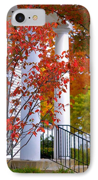 Autumn In Long Grove 2 IPhone Case by Julie Palencia