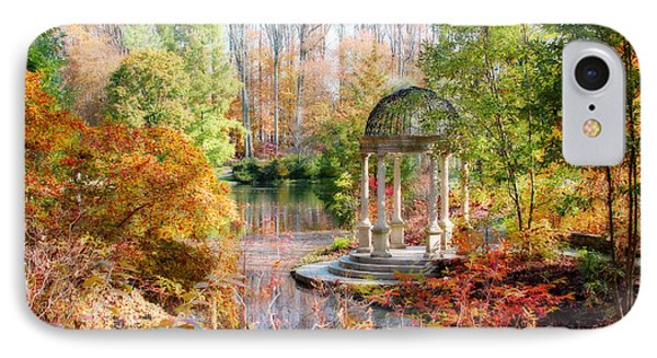 Autumn In Longwood Gardens IPhone Case by Trina  Ansel