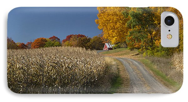 Autumn In Minnesota IPhone Case by Garry McMichael