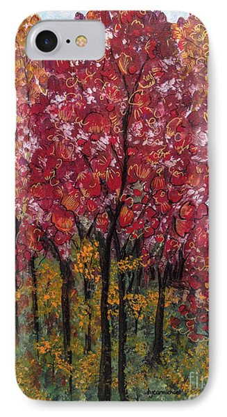 Autumn In Nashville IPhone Case by Holly Carmichael