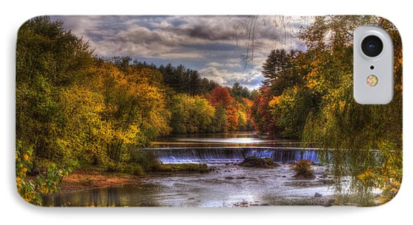 Autumn In New England - Contoocook Nh IPhone Case