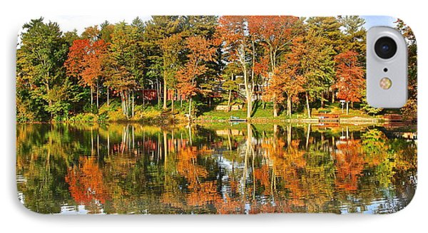 Autumn In Ohio IPhone Case by Frozen in Time Fine Art Photography