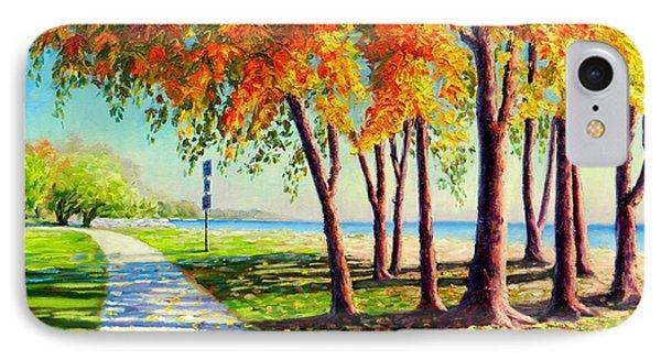 Autumn In Ontario IPhone Case