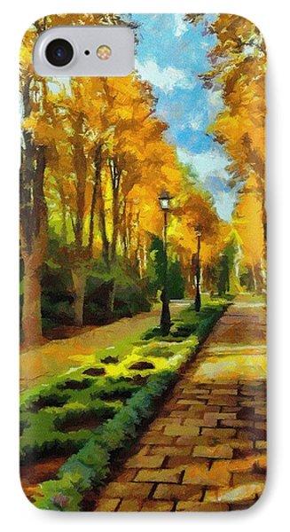 Autumn In Public Gardens Phone Case by Jeff Kolker