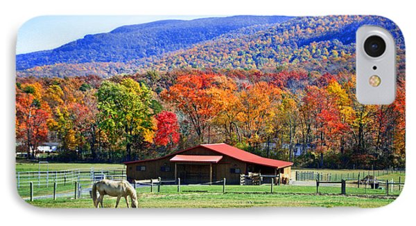 Autumn In Rural Virginia  IPhone Case