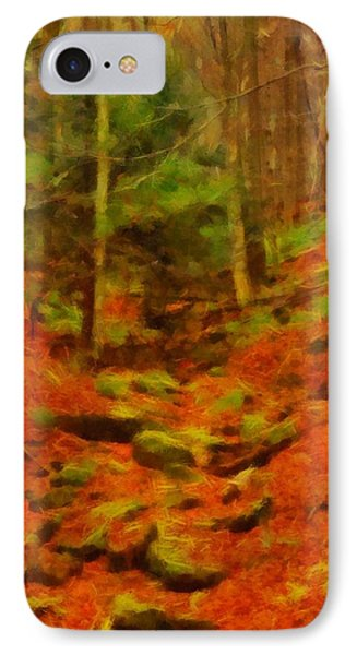 Autumn In Sproul State Forest IPhone Case by Dan Sproul