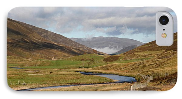 Autumn In The Cairngorms IPhone Case by John Topman