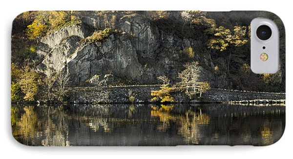 Autumn In The Lake IPhone Case by Linsey Williams