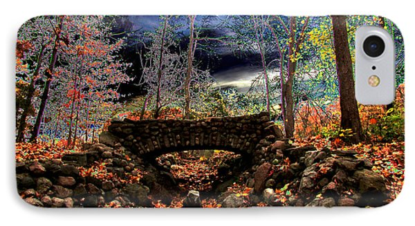 Autumn In The Meadow IPhone Case by Michael Rucker