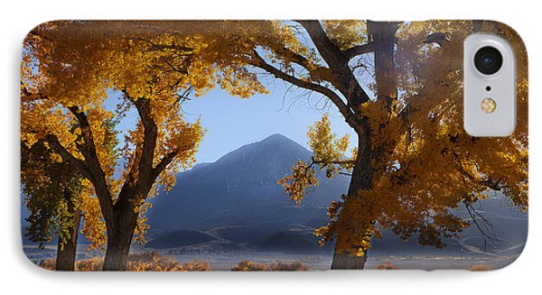 Autumn In The Mountains IPhone Case by Andrew Soundarajan