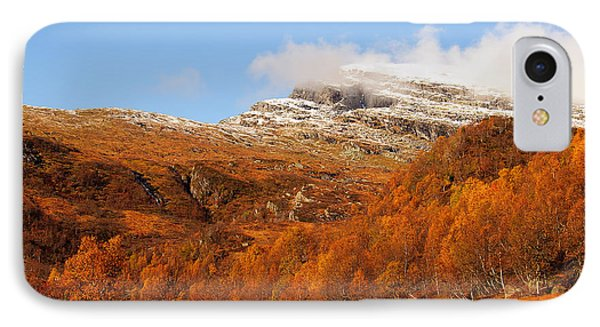 Autumn In The Mountains Phone Case by Gry Thunes