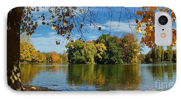 Autumn In The Park 2 IPhone Case