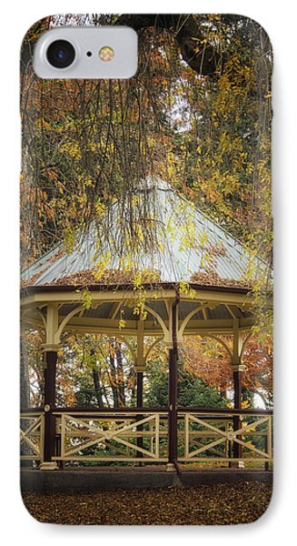 IPhone Case featuring the photograph Autumn In The Park by Kim Andelkovic