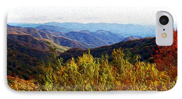 Autumn In The Smokey Mountains Phone Case by Phil Perkins