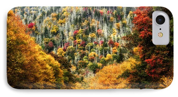 Autumn In The Smokies IPhone Case