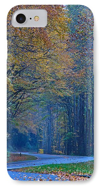 Autumn In The Smoky's  IPhone Case