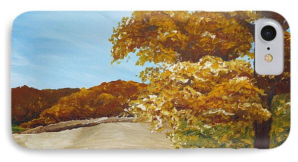 Autumn In The Valley Phone Case by Monica Veraguth