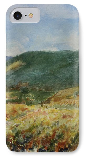 Harvest Time In Napa Valley IPhone Case
