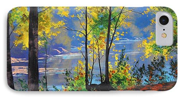 Autumn In Tumut IPhone Case by Graham Gercken