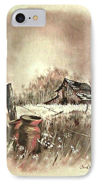 Autumn In View At Mac Gregors Barn IPhone Case by Carol Wisniewski