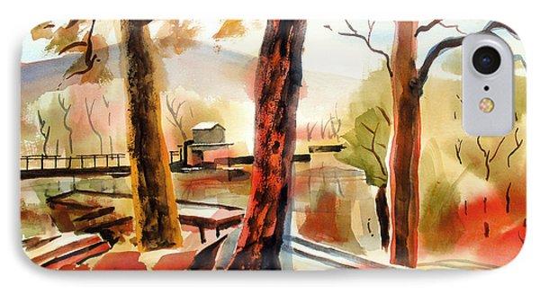 Autumn Jon Boats II IPhone Case