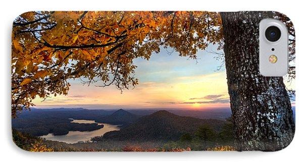 Autumn Lake Phone Case by Debra and Dave Vanderlaan