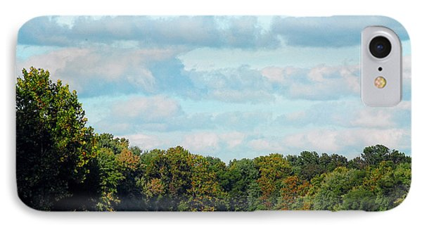 IPhone Case featuring the photograph Autumn Lake by Lena Wilhite