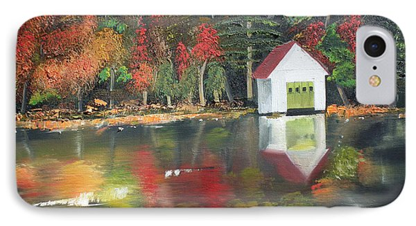 Autumn - Lake - Reflecton IPhone Case