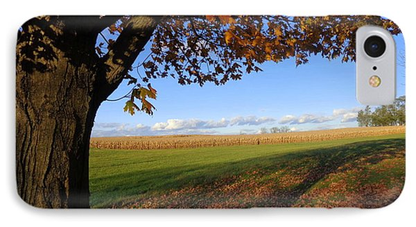Autumn Landscape IPhone Case by Joseph Skompski