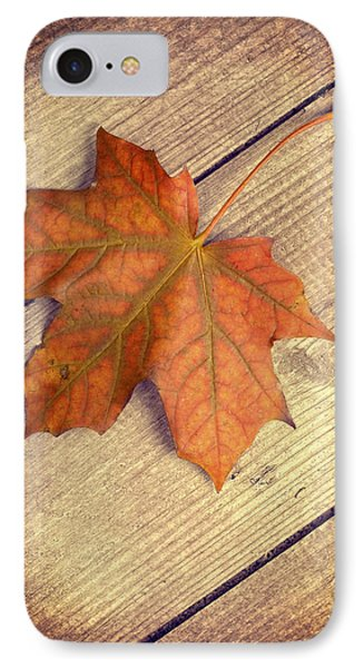 Autumn Leaf IPhone Case by Amanda Elwell