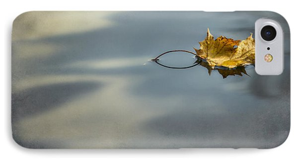 IPhone Case featuring the photograph Autumn Leaf by Yelena Rozov