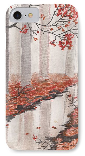 Autumn Leaves IPhone Case by David Jackson