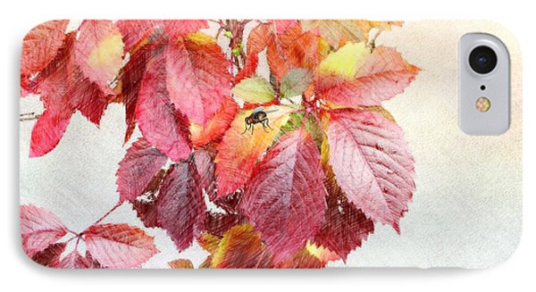 Autumn Leaves Phone Case by Liane Wright