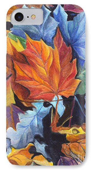 Autumn Leaves Of Red And Gold Phone Case by Carol Wisniewski