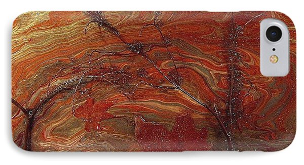 Autumn Leaves Phone Case by Patrick Mock