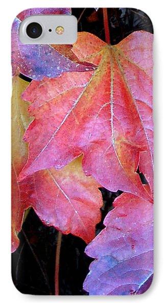 Autumn Leaves Up Close IPhone Case