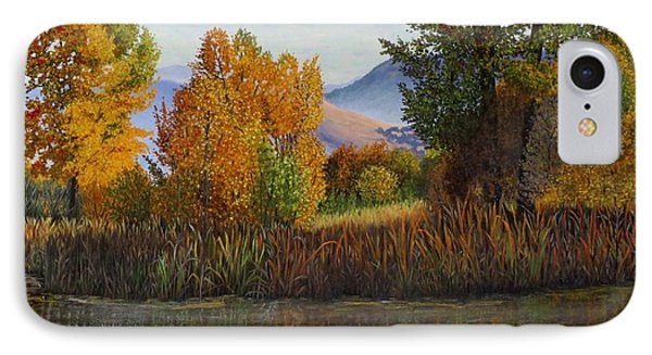 Autumn Light Phone Case by Beverly Theriault
