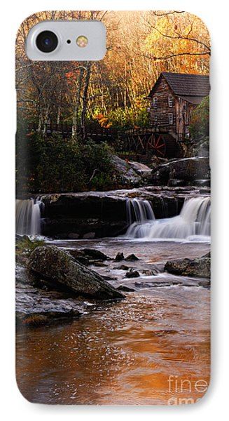 Autumn Light IPhone Case by Larry Ricker