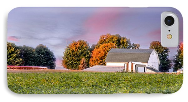 IPhone Case featuring the photograph Autumn Light by Mary Timman