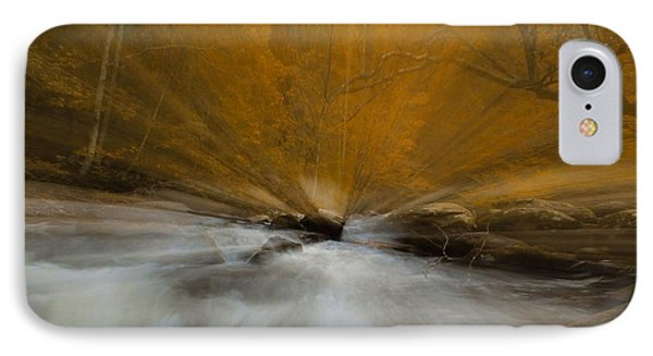 Autumn Light On Little River IPhone Case by Dan Sproul