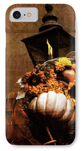 Autumn Light Post IPhone Case by Dan Sproul