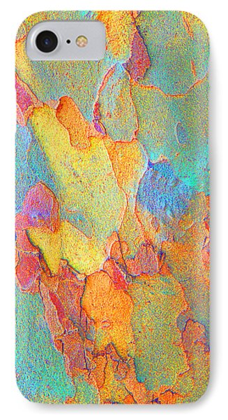 Autumn London Plane Tree Abstract 2 IPhone Case