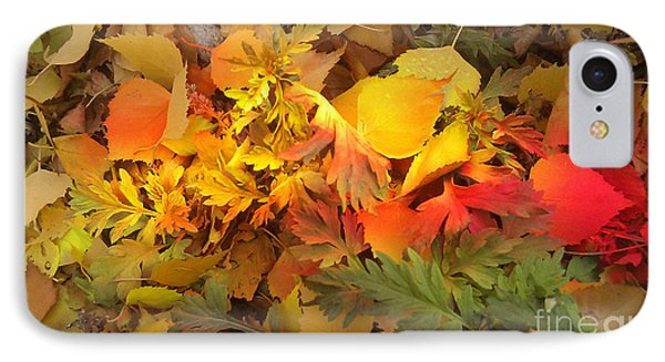 Autumn Masquerade IPhone Case
