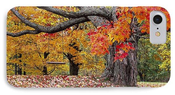 Autumn Memories IPhone Case by Alan L Graham