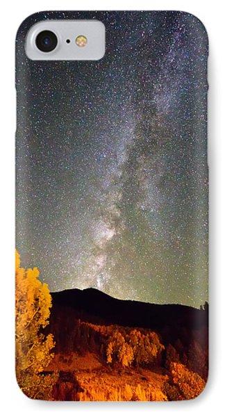 Autumn Milky Way Night Sky  Phone Case by James BO  Insogna