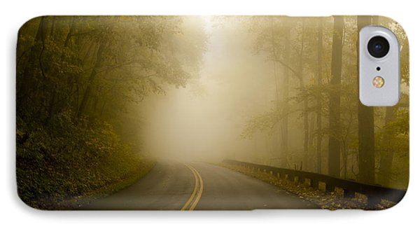 Autumn Mist Blue Ridge Parkway IPhone Case by Terry DeLuco