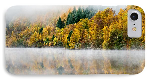Autumn Mist IPhone Case by Dave Bowman